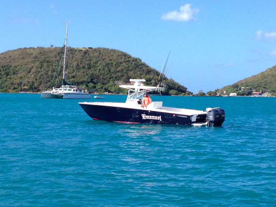 Fishing charter boat emanuel capt alvin fishing charters for St thomas fishing