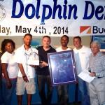 2014 VI Big Game Club Dolphin Derby Best Boat Award & Calcutta Winner